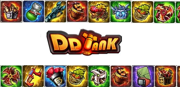 A escolha da arma em DDTank é essencial (Foto: TechTudo)