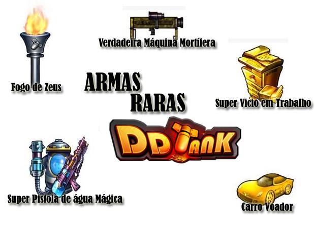 Armas Raras em DDTank (Foto: TechTudo)