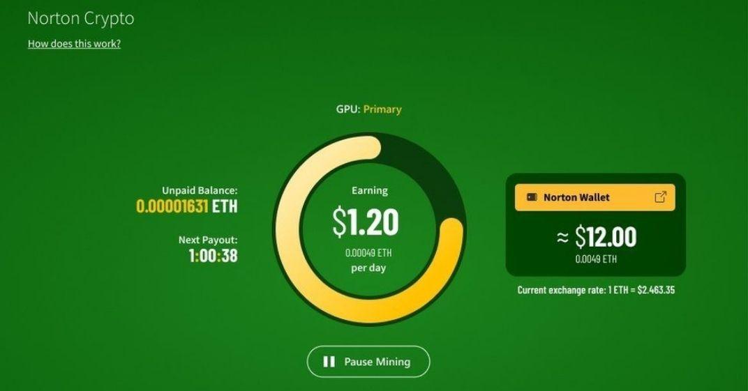 Norton Antivirus oferecer serviço Crypto Mining descubra como funciona!